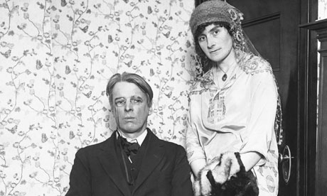 William Butler Yeats and his wife George, 1920s