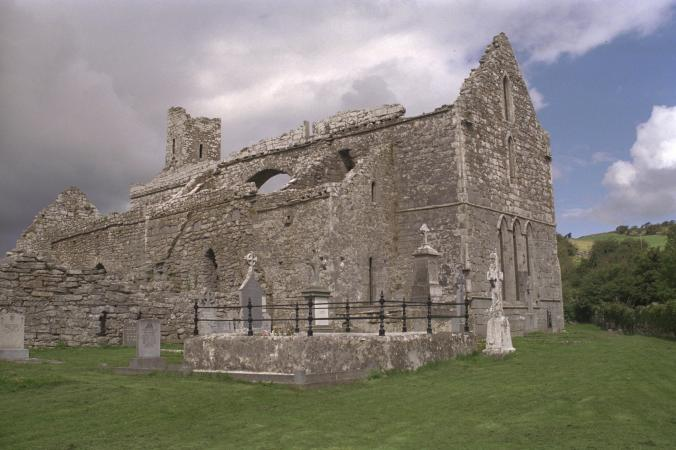Corcomroe Abbey, Co. Clare, the setting for Yeats's The Dreaming of the Bones
