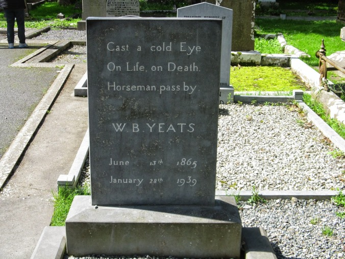 Yeats's grave at Drumcliff, Sligo