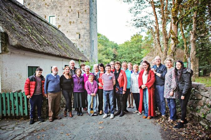 Yeats Thoor Ballylee Society Volunteers 2015