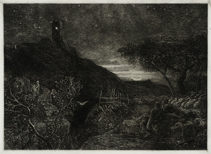 TateImages_T06518 Samuel Palmer Lonely Tower