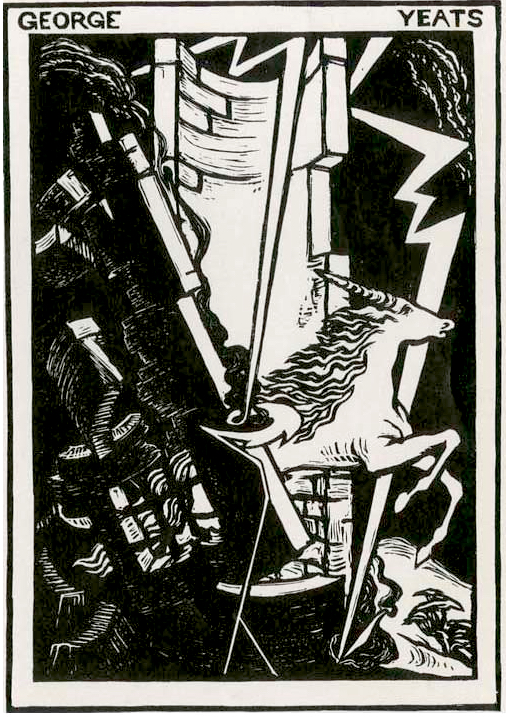 Thomas Sturge Moore, Bookplate for George Yeats (1924)