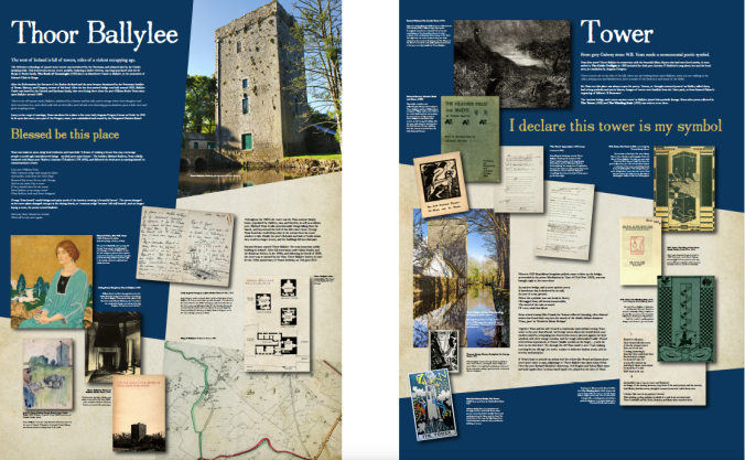 Yeats Tower Exhibition