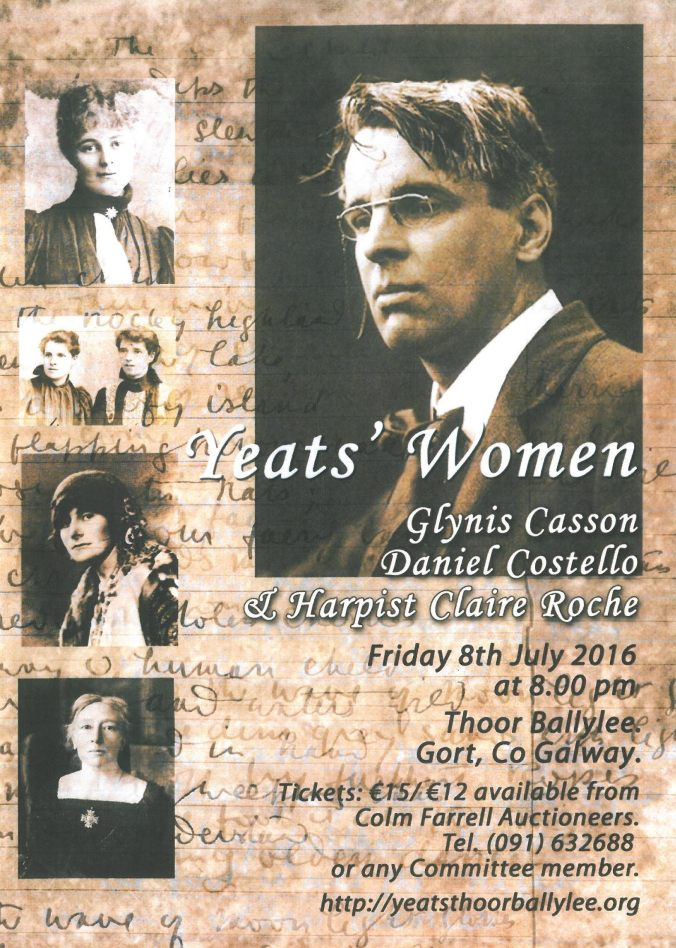 Yeats Women July 8th 2016