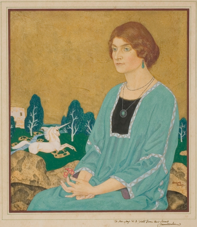 Mrs W. B. Yeats by Edmund Dulac (c) Marcia Geraldine Anderson