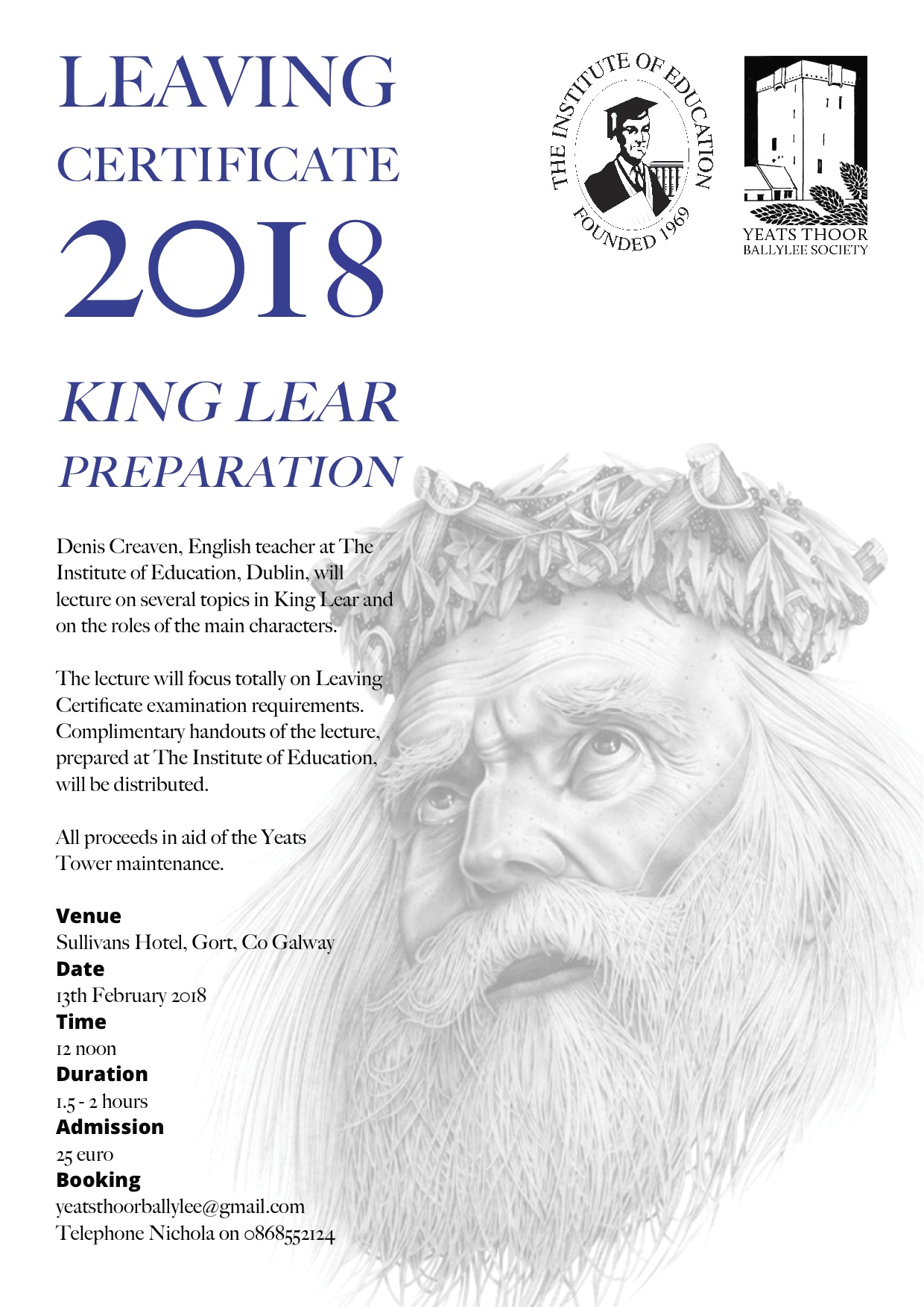 king lear roles